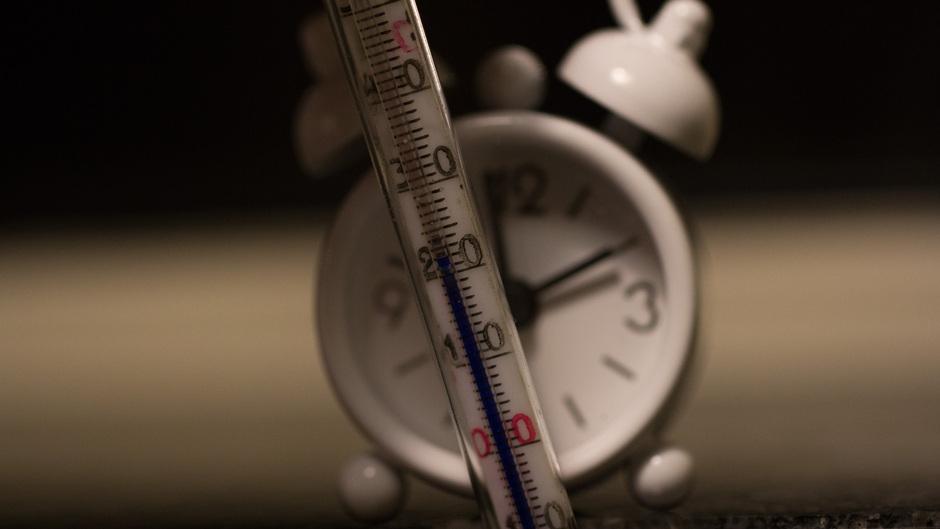 Vannacht was weer extreem warm met ruim 20 graden