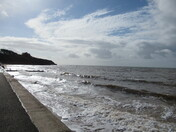 Stormy seas towards Orcombe Point, Exmouth