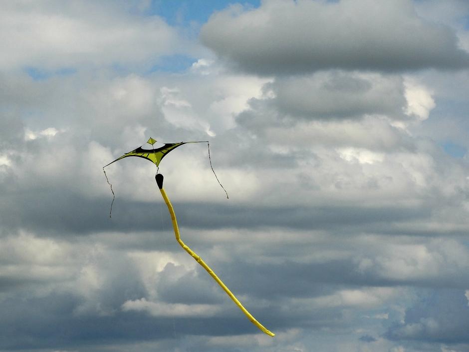 Heerlijk vliegerweer