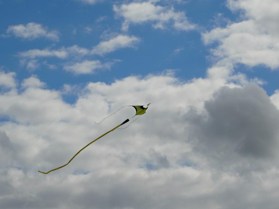 Vlieger weer.