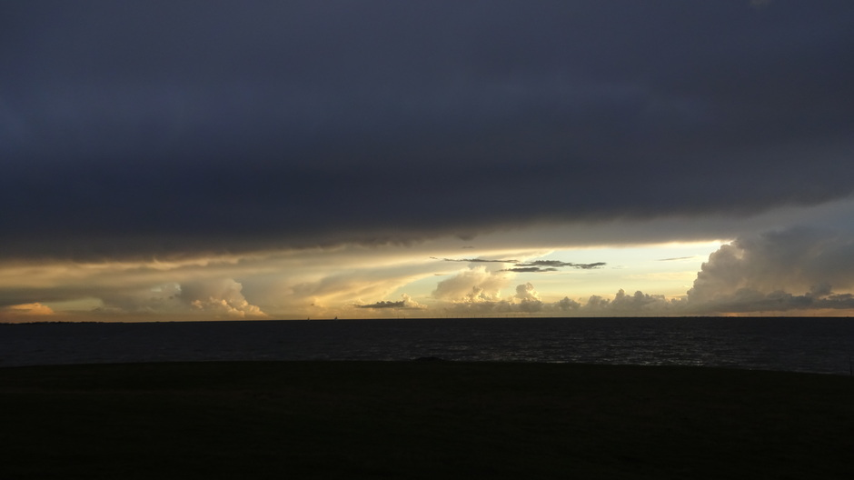 Licht aan de horizon