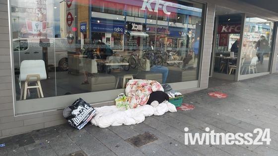 Rough Sleeping Barking Town Centre