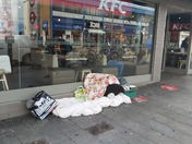 Rough Sleeping Barking Town Centre