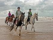 Horse riding Holkham Beach