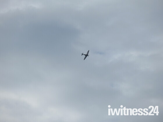 I heard a spitfire whilst walking from my home