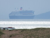 Ships seen on the sea from Exmouth