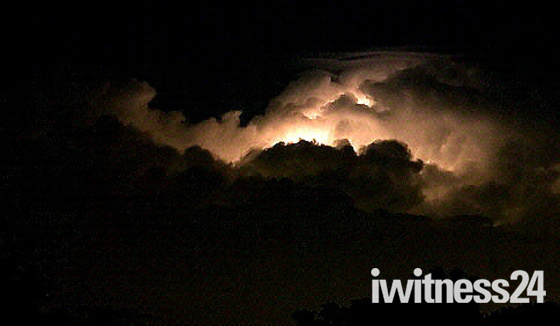 Electric storm over Gorleston