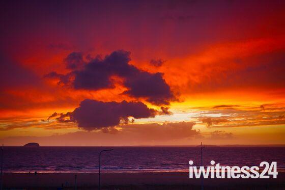 Stormy Sunset…