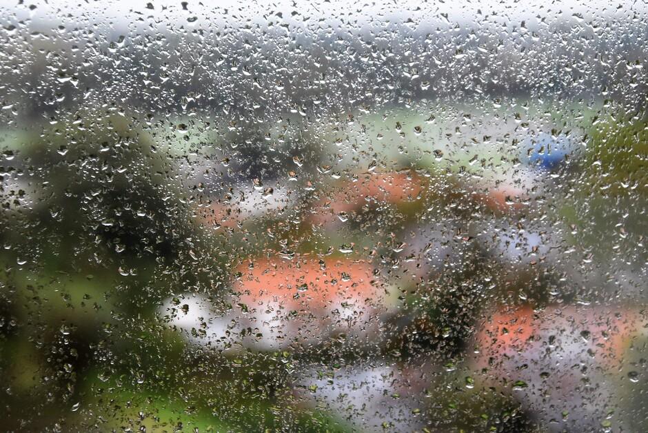 Vanmorgen nog regen