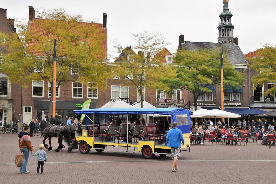 Plein in Middelburg