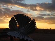 aldeburgh sun set