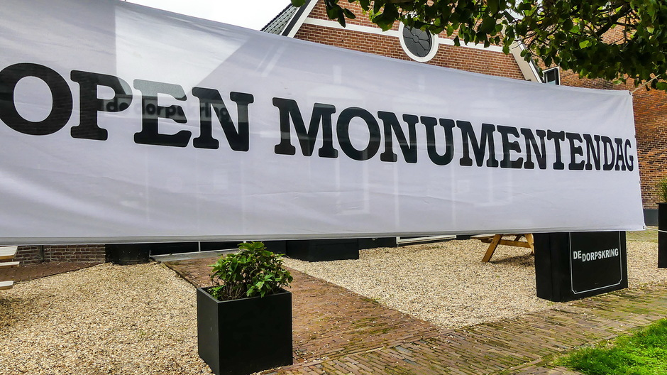 Prima dag voor Open Monumentendag
