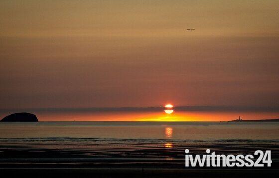 Saturnian Sunset…