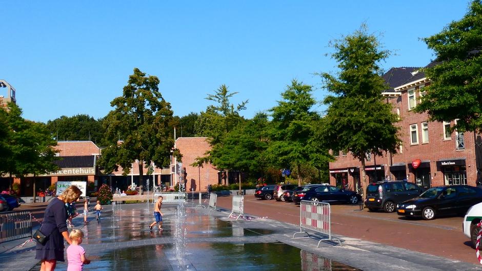 Waterpret in centrum Ermelo