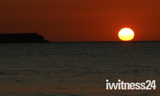 Brean Down Sundown