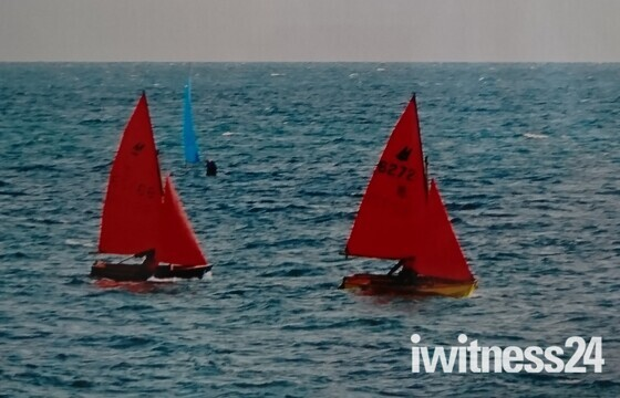 Redsails at Sidmouth.