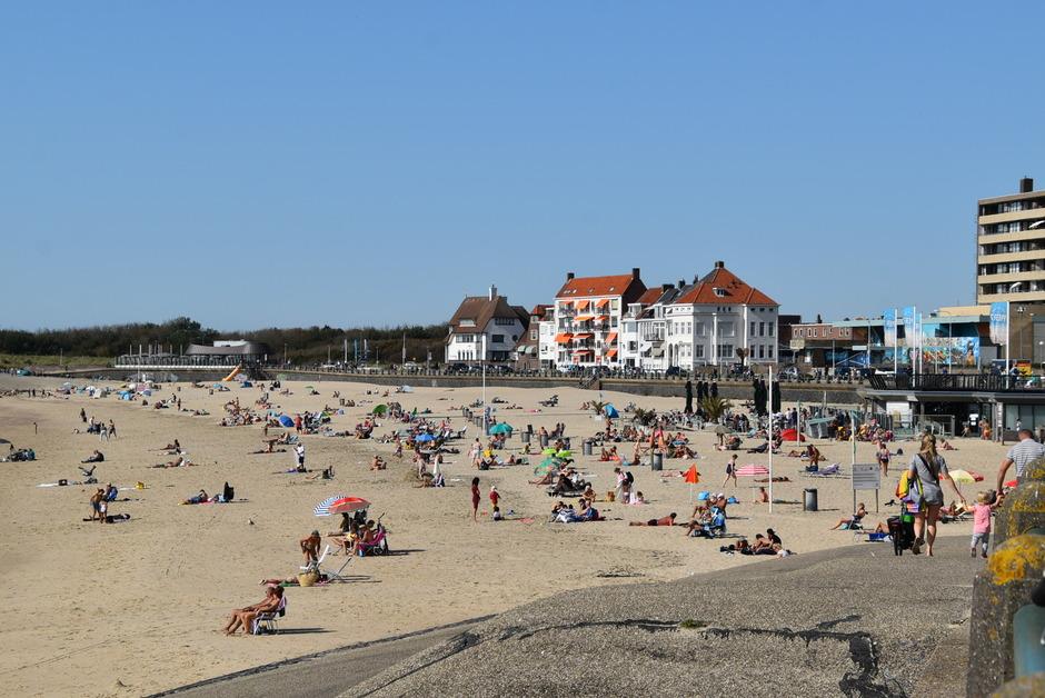 Strandweer in september.