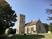 St Boltophs church in Burgh Suffolk
