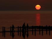 A Teardrop Sunset