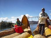 Lake Titicaca Reed Boats