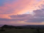 evening sky from Muttersmoor