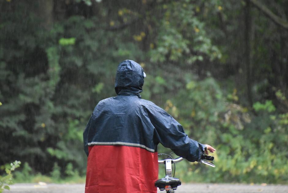 Regenjas.