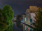 Riverside at midnight