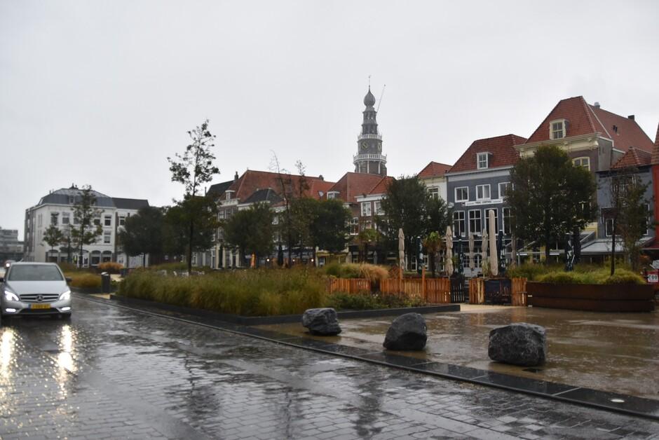 Urenlang regen