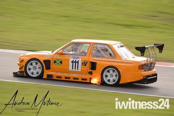Classic Car Motorsport Action