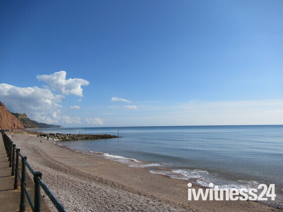 A sunny Autumn day in Sidmouth