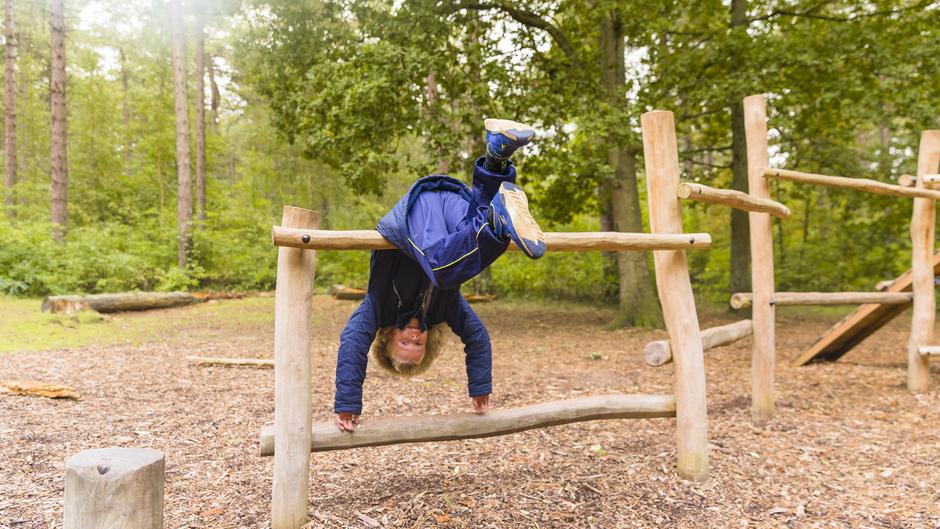 Lekker spelen in het bos vandaag het beste plek om te zijn