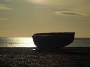 Sunrise at Dunwich Beach