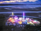 Fair at Dusk