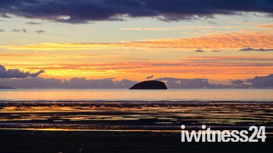 Spectacular Sunset over Weston Bay