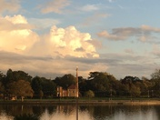 A serene evening at Oulton Broad
