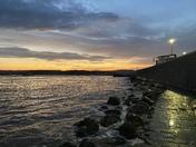 Beautiful Exmouth Autumn Sunset