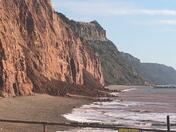Sidmouth landslide