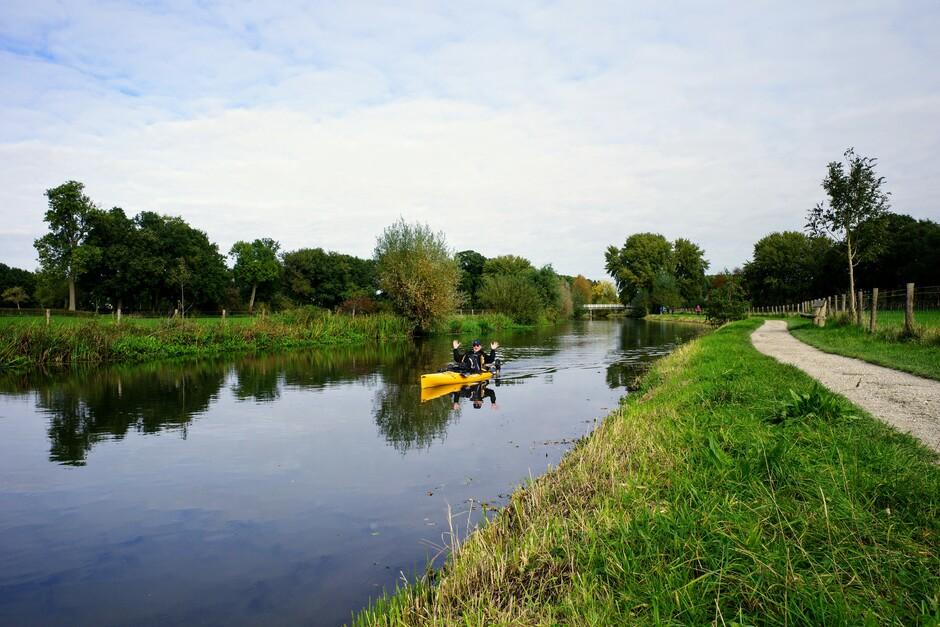 Prachtig herfstweer aan de Kromme Rijn