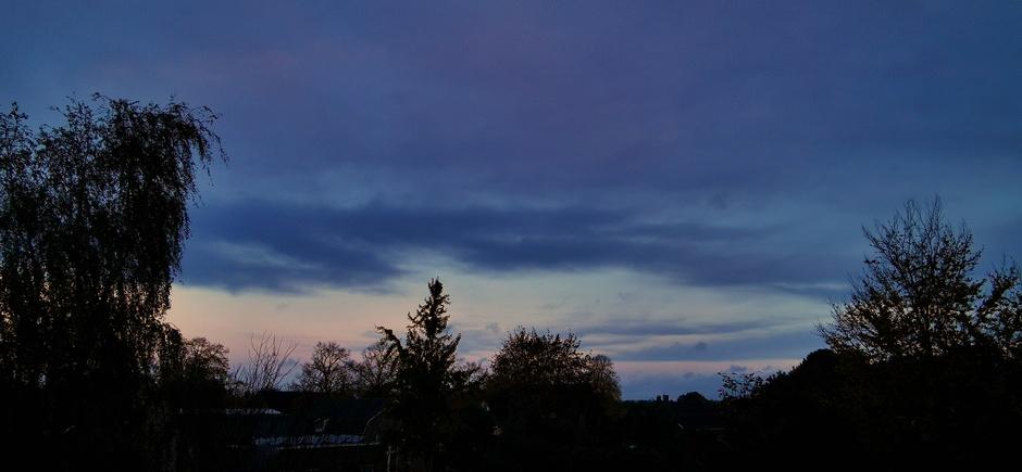 Een streepje licht vanmorgen