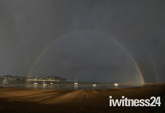 Rainbow and Storms at Instow