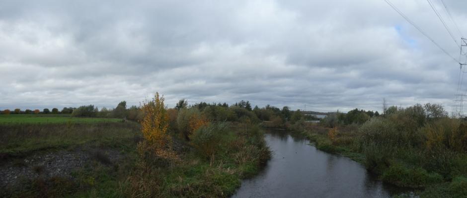 Panorama- dicht bewolkt.