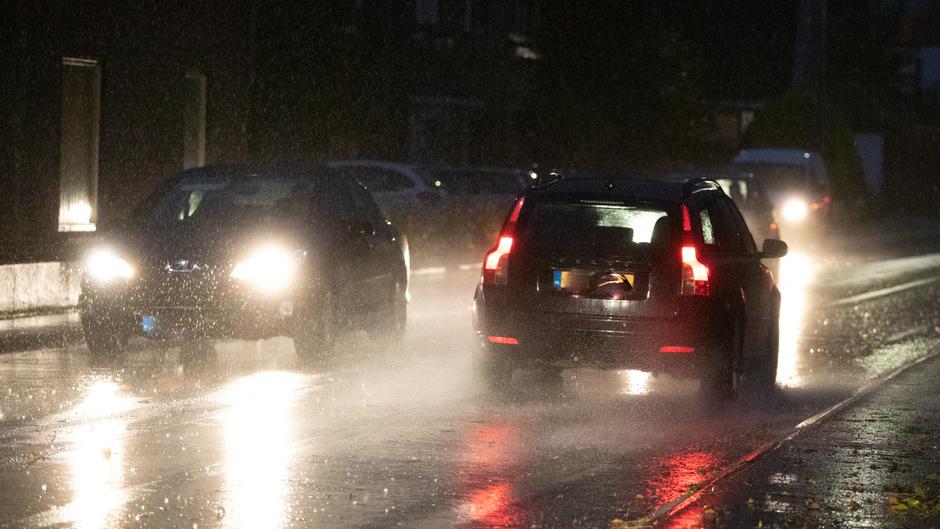 Pittige regenbui om 17.30 uur