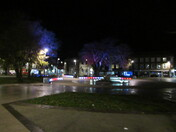 Exmouth Strand at night