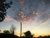 Sunset in Burgh Suffolk