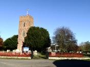Layham ( Suffolk ) Church poppies Nov 2020