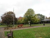 Autumn Scenery in Manor Gardens
