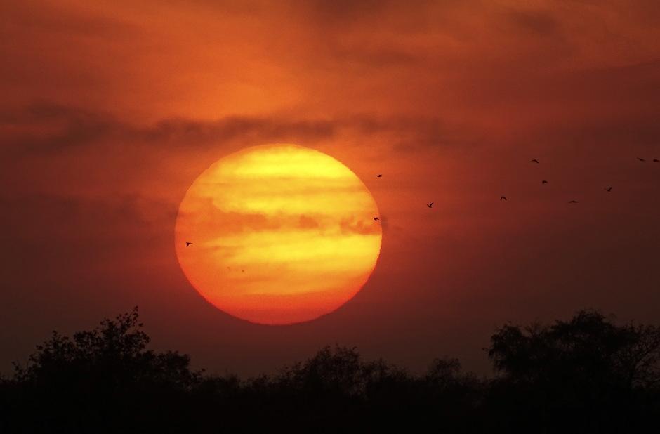 Ondergaande zon 07-11-2020