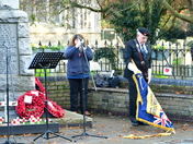 Bungay Remembers on Remembrance Sunday during COVID-19