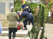 Hadleigh Remembrance ceremony 2020