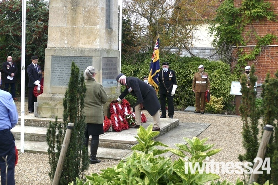 Hadleigh Remembrance ceremony 2020 all